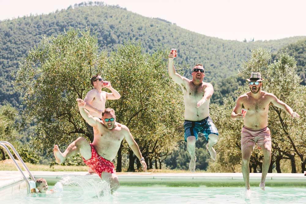 agriturismo piscina toscana